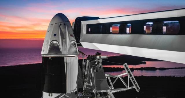 见证历史!SpaceX实现首次载人发射全记录
